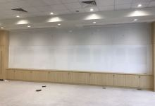 8m Long Magnetic Whiteboard<br/> at Nanyang Academy of Fine Arts