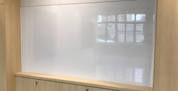 5.3m W x 1.45m H Seamless<br> magnetic dry erase whiteboards