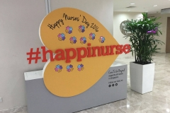 Our roving nurses day exhibit
