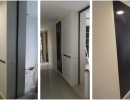 GDmag adhesive Magnetic Whiteboard and black printed whiteboard at residential
