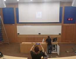 Gdmag adhesive Magnetic Whiteboard at University