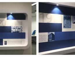 Magnetic Graphic System Showcasing<br /> at MNC Office