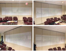 Magnetic Whiteboard on partition doors
