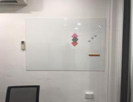 Magnetic whiteboard at Venture Haven