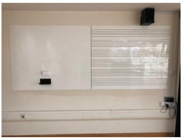 Magnetic whiteboard with music scoreline<br/> for School