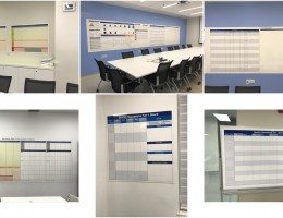 Magnetic whiteboards @ Pharmaceutical<br /> Company