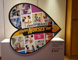 Nurses' Merit Award at Marriot Hotel