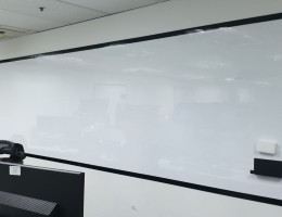 Premium Magnetic Whiteboard System <br />With Frames