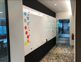 Visual Magnetic Whiteboard @ Dulwich<br /> College Office Building