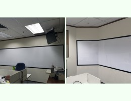 Visual Magnetic Whiteboard With Frames At<br /> CIMB