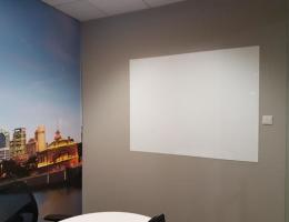 Visual Magnetic Whiteboard at <br />Financial Office