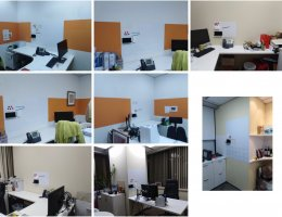 Visual Magnetic whiteboards @ tourism office