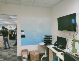 Visual Magnetics Whiteboard System With Print