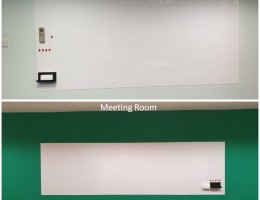 Vm magnetic whiteboard at primary school