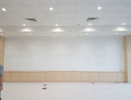 8m Long Magnetic Whiteboard<br /> at Nanyang Academy of Fine Arts