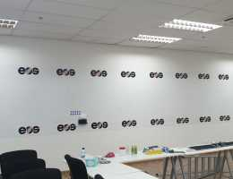 Visual Magnetic Printed Whiteboard