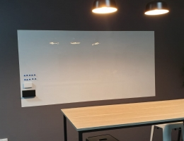 Magnetic Whiteboard, 2.4 x 1.2m
