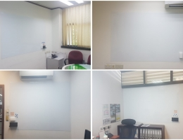 Magnetic whiteboard at Industrial in Tuas