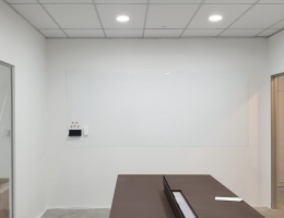 Magnetic whiteboard at Nordcom building 3mx 1.2m