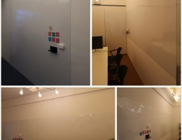 Magnetic Whiteboard At Delta House Office