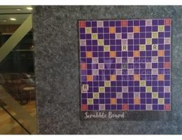 Magnetic Scrabble boards