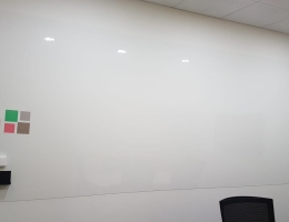 Visual Magneetics whiteboard at conference<br> room