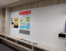 VM Premium magnetic whiteboard @ University<br>3.5x1.5m