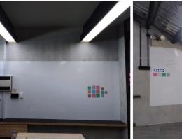 Visual Magnetic Premium magnetic whiteboard