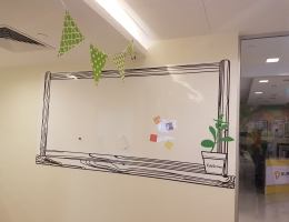Visual Magnetics Whiteboard at<br> Education Centre