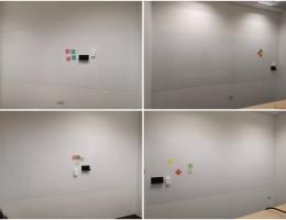 Vm magnetic whiteboards @ hospital