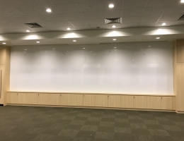 5.3m x 1.45m Magnetic dry erase whiteboard