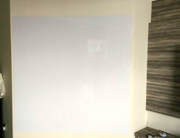 1.5m X 1.5m Magnetic Whiteboard<br> at Riverbay Condo