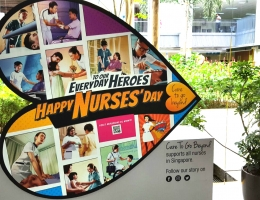 Roving Nurses day exhibit