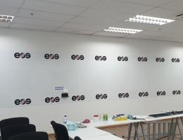Visual Magnetic Printed Whiteboard