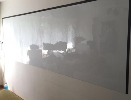 Customised Wall to Wall Whiteboard
