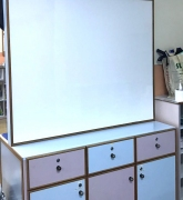 Restored Magnetic Whiteboard