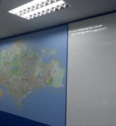 Blu World Map of Singapore