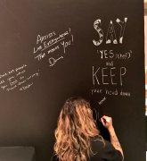 Erasable Magnetic Chalkboard