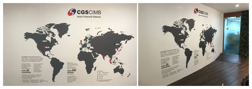 CIMB world map